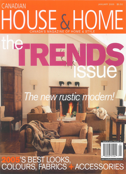 Canadian House & home cover