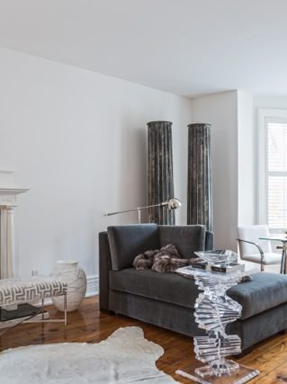 Yorkville Cottage living room